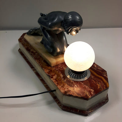 Early 20th Century Desk Lamp