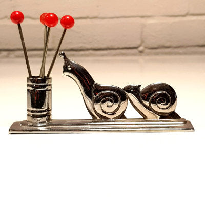 Art Deco Escargot Forks