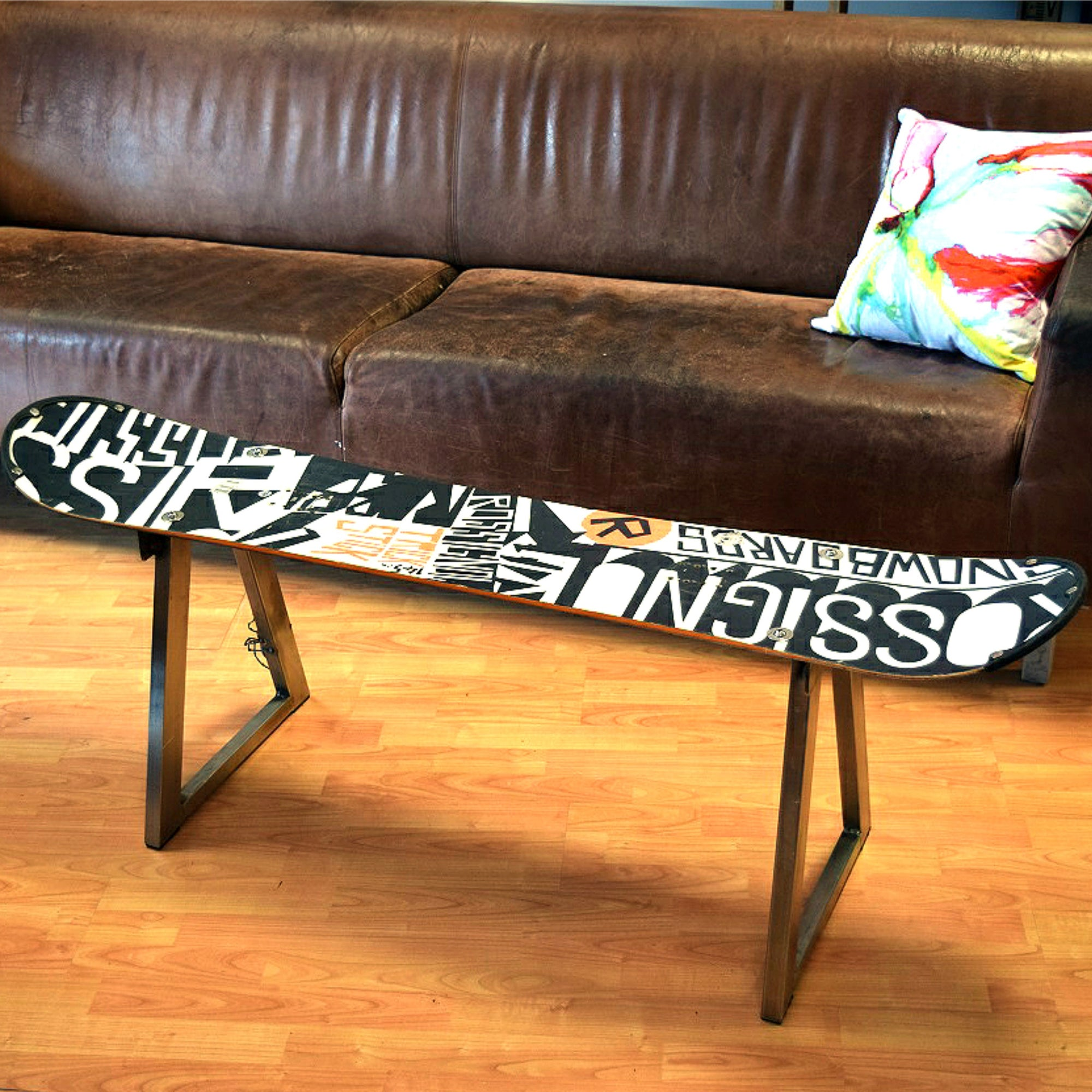 Snowboard Coffee Table Home Alchemy
