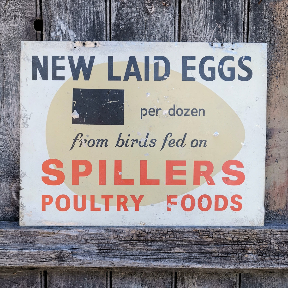 Spillers Poultry Foods Sign