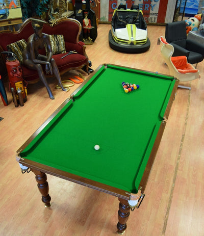 Antique E.J. Riley Snooker Table