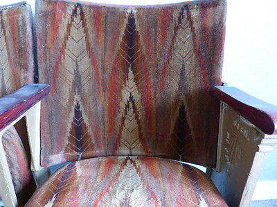 Patterned Deco Theatre Seats