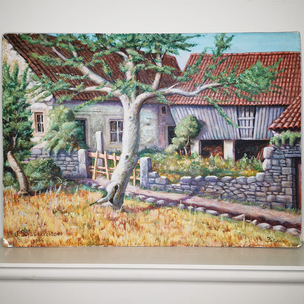 Portuguese Farmhouse Scene
