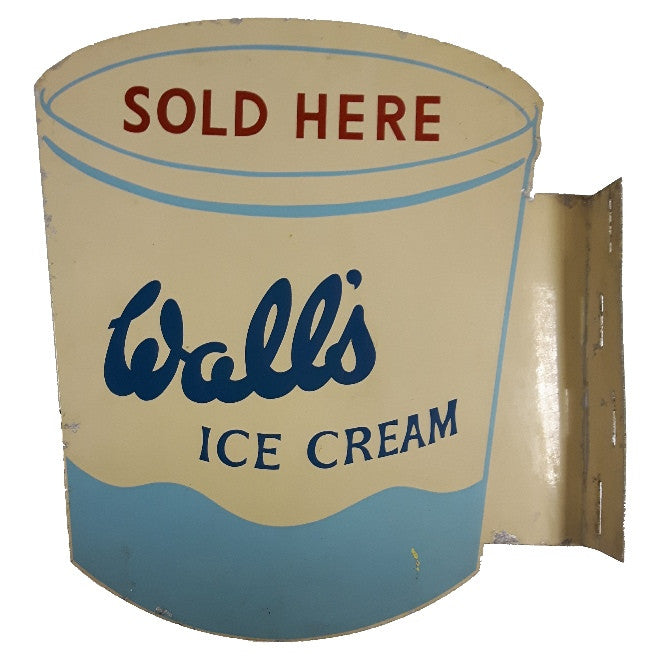 Wall's Ice Cream Sign