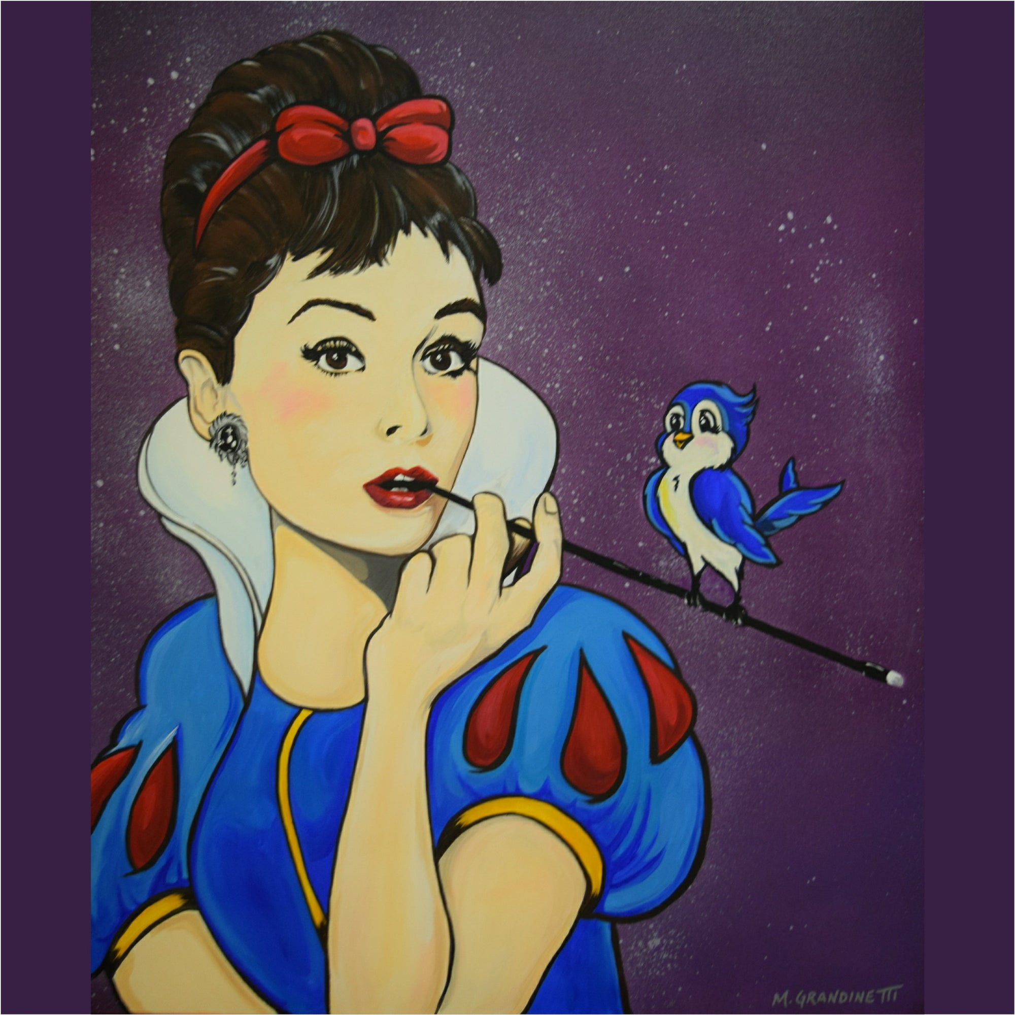 Audrey Hepburn meets Snow White