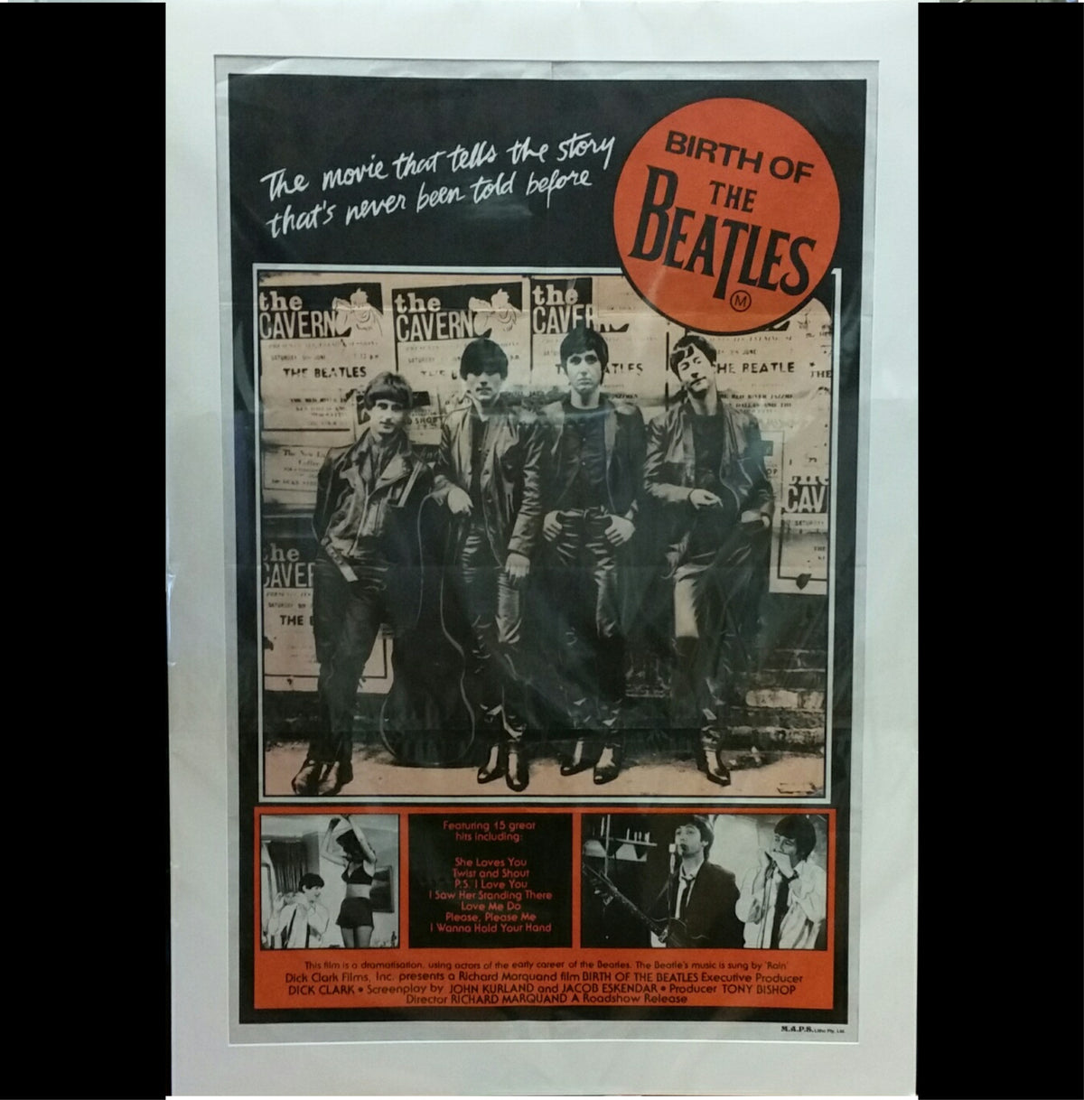 Movie Poster - Birth of the Beatles