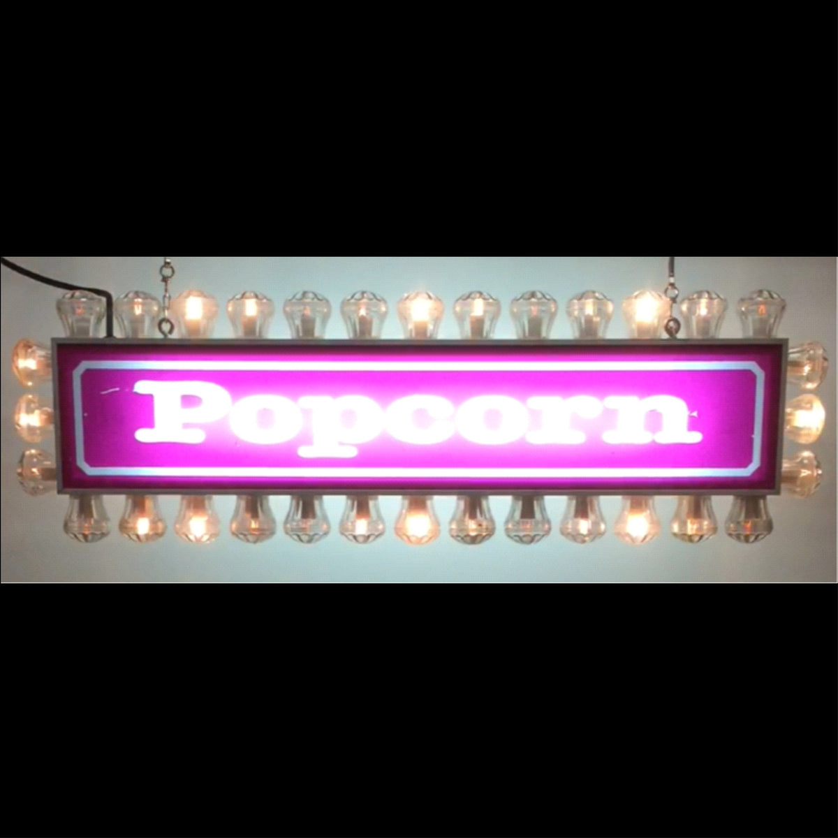 Fairground Popcorn Light Box