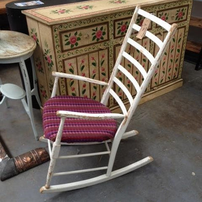 Vintage 1960's Rocking Chair