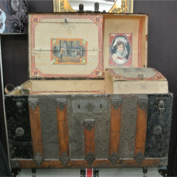 1860s Steamer trunk
