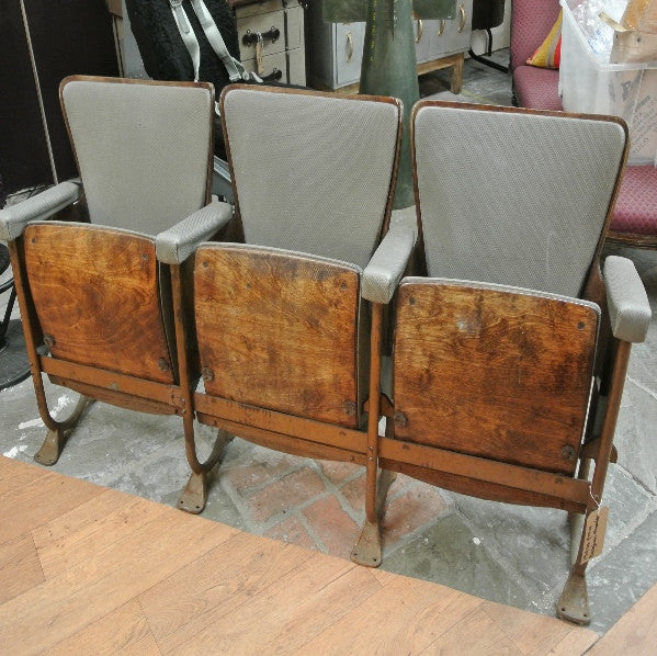 1930s seats from a Belgian theatre