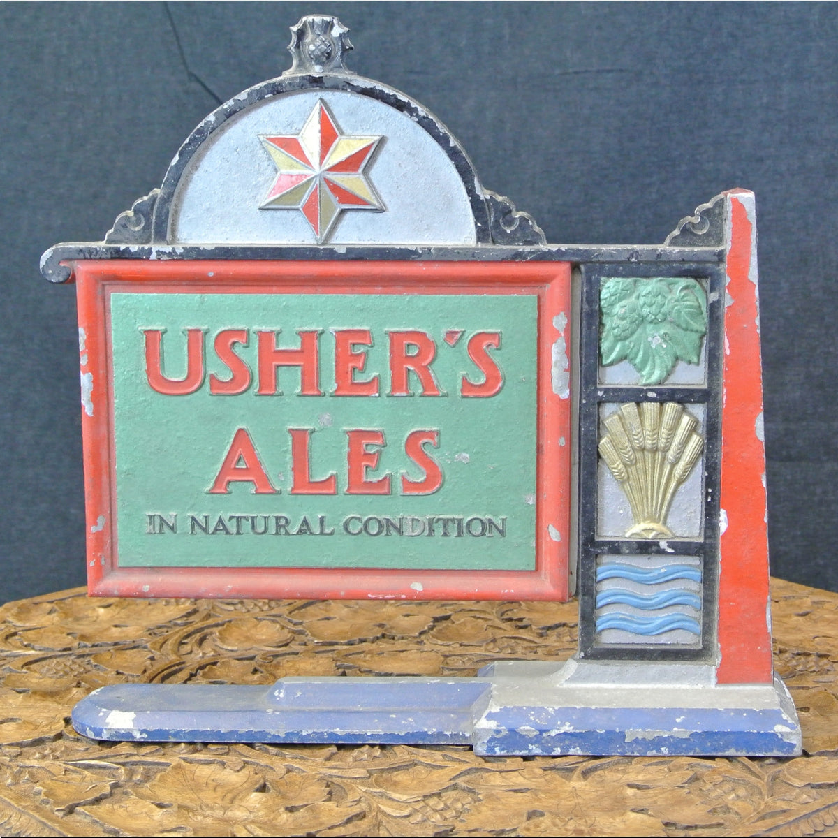 Ushers Pub sign