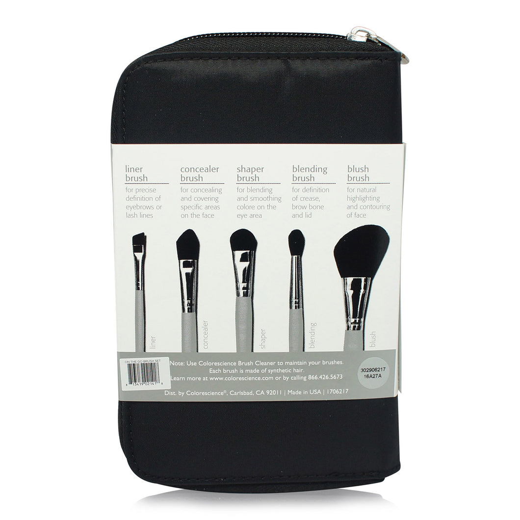 Colorescience 5-piece Brush Kit