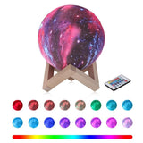 Lampe Lune 3D Multicolor<br> Anti Stress