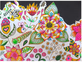 Coloriage Flore <br> Anti Stress