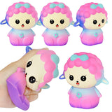 Balle Mouton Kawaii Rose <br> Anti Stress
