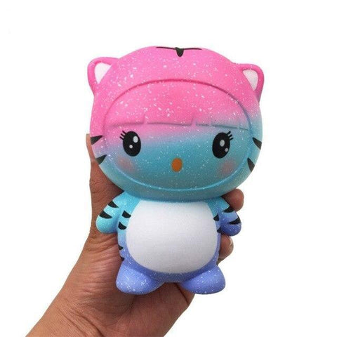 Balle Chat Tigré Galaxie Kawaii Anti Stress|Le Monde Anti Stress