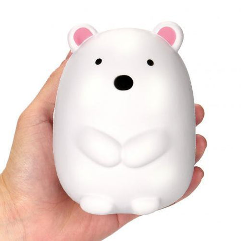 Balle Ours Polaire Kawaii Anti Stress