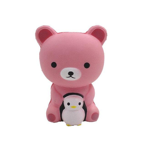 Balle Ourson Rose Kawaii Anti Stress l Le Monde Anti Stress