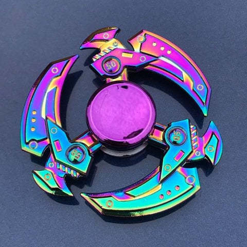 Toupie Hand Spinner Faux Mécanique Anti Stress