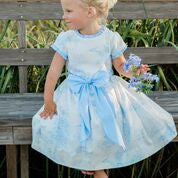 Load image into Gallery viewer, Bailey Boys Blue Belle Dress