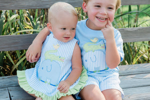 Bailey Boys Springtime Friends Short Set