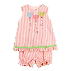 Bailey Boys Heartstrings Bloomer Set