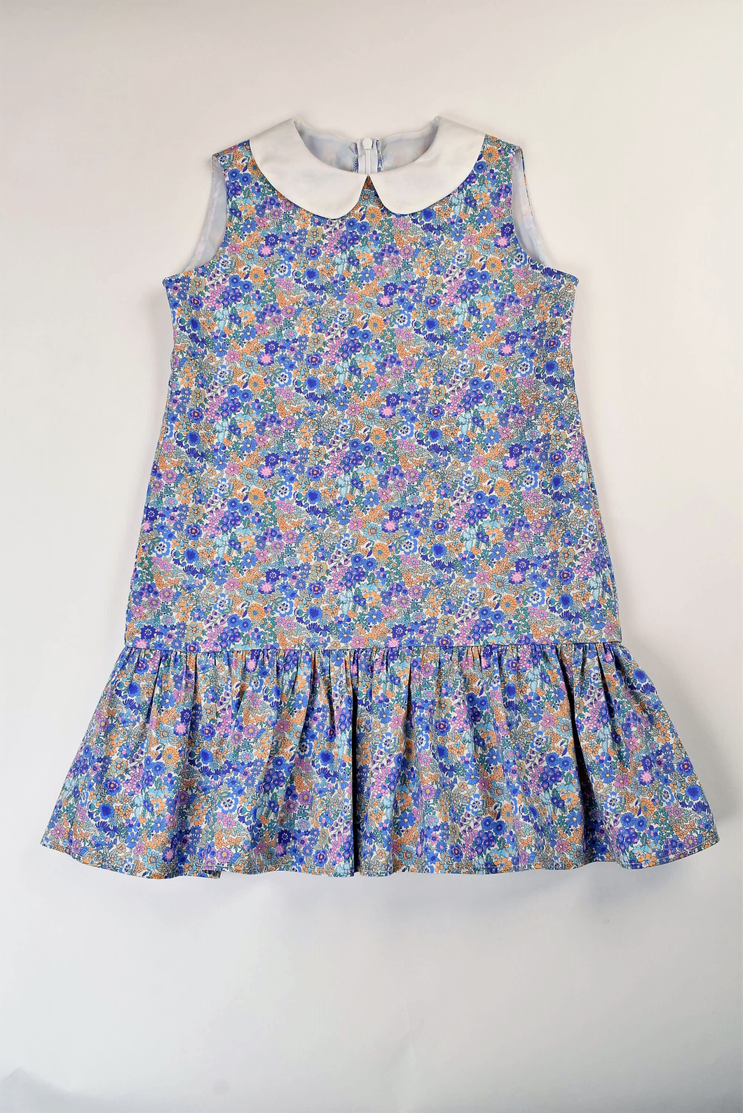 Maggie Breen Floral Ruffle Tween Dress