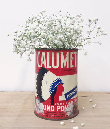 Calumet Baking Powder Can