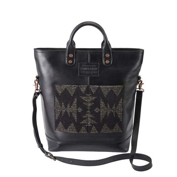 Pendleton Leather Tote Bag