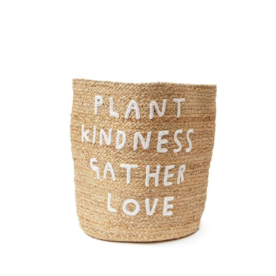 Plant Kindness Gather Love Basket