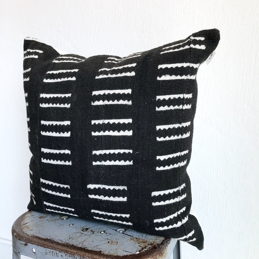 Mudcloth Pillow Cover - (square)