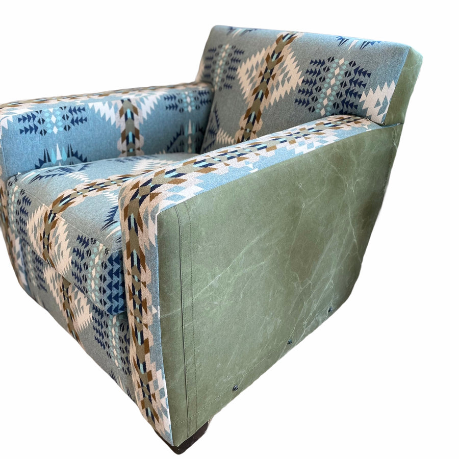 RL Signature Wool Accent Chair - Rancho Arroyo Shale