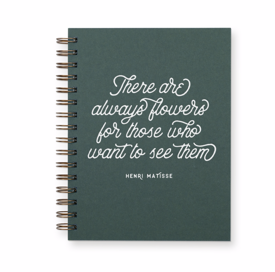 Always Flowers Notebook