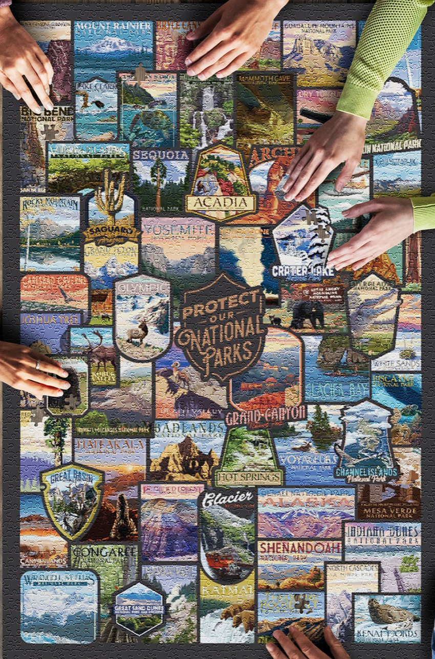 Protect Our National Parks - 1,000 Piece Puzzle