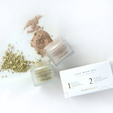 Clay Facial Masks Duo