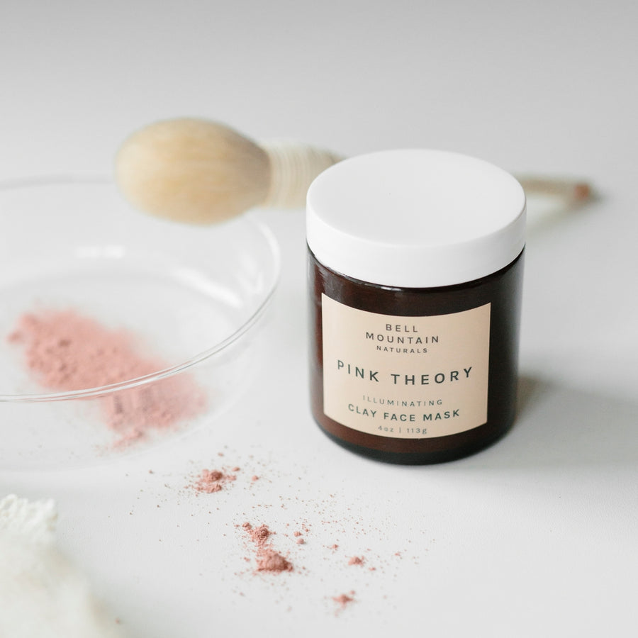 Clay Face Mask - Pink Theory