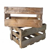Vintage German Wine Crate