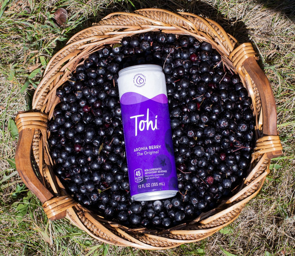 Tohi's New, Antioxidant-Packed Aronia Berry Drink Is Gaining Nationwide Buzz