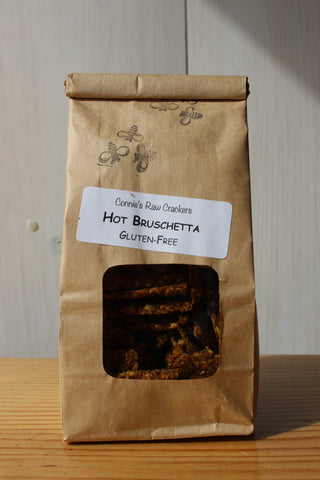 Connie's - Hot Bruschetta Crackers 150g