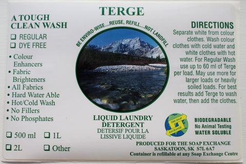Laundry Soap - Terge - 500 ml