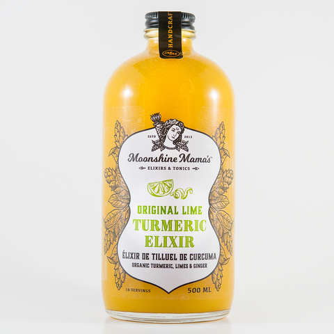 Moonshine Mama's - Original Lime Turmeric Elixir 500 ml