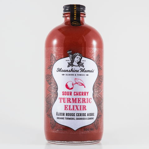 Moonshine Mama's - Sour Cherry Turmeric Elixir 500 ml