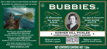 Bubbie's Pickles