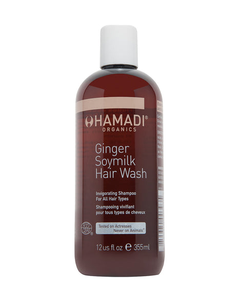 Ginger Soymilk Organic Hair Wash