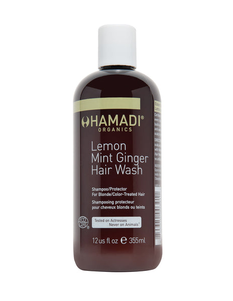 Lemon Mint Ginger Hair Wash