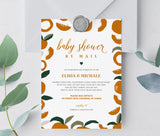 Baby Shower by Mail Invitation 1