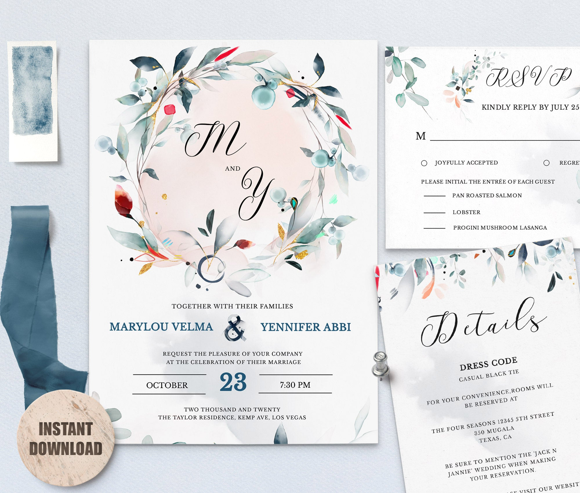 SPMR - Wedding Template Bundles set 1 - Greenlanderdesign