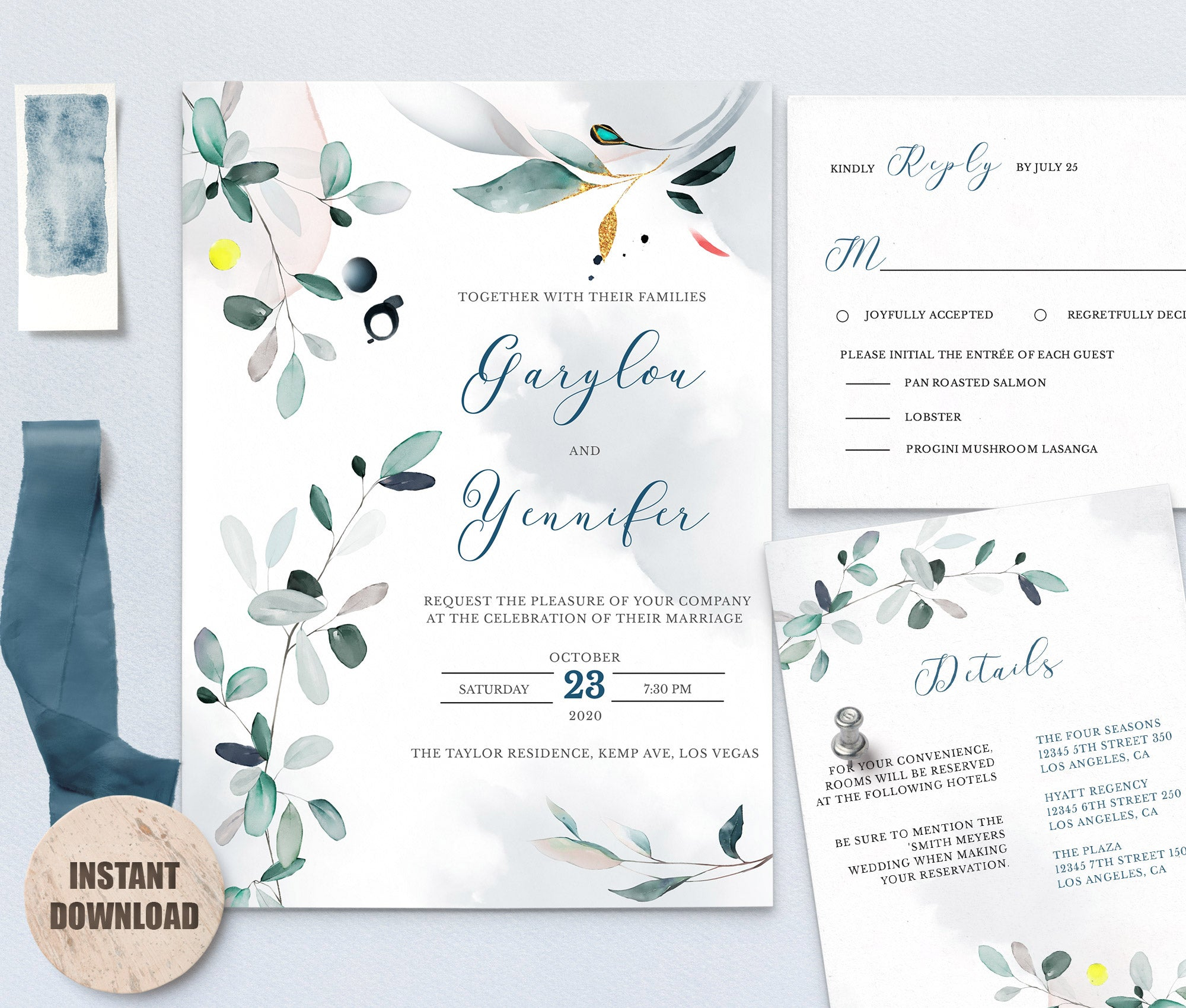 SPMR - Wedding Template Bundles set 9 - Greenlanderdesign