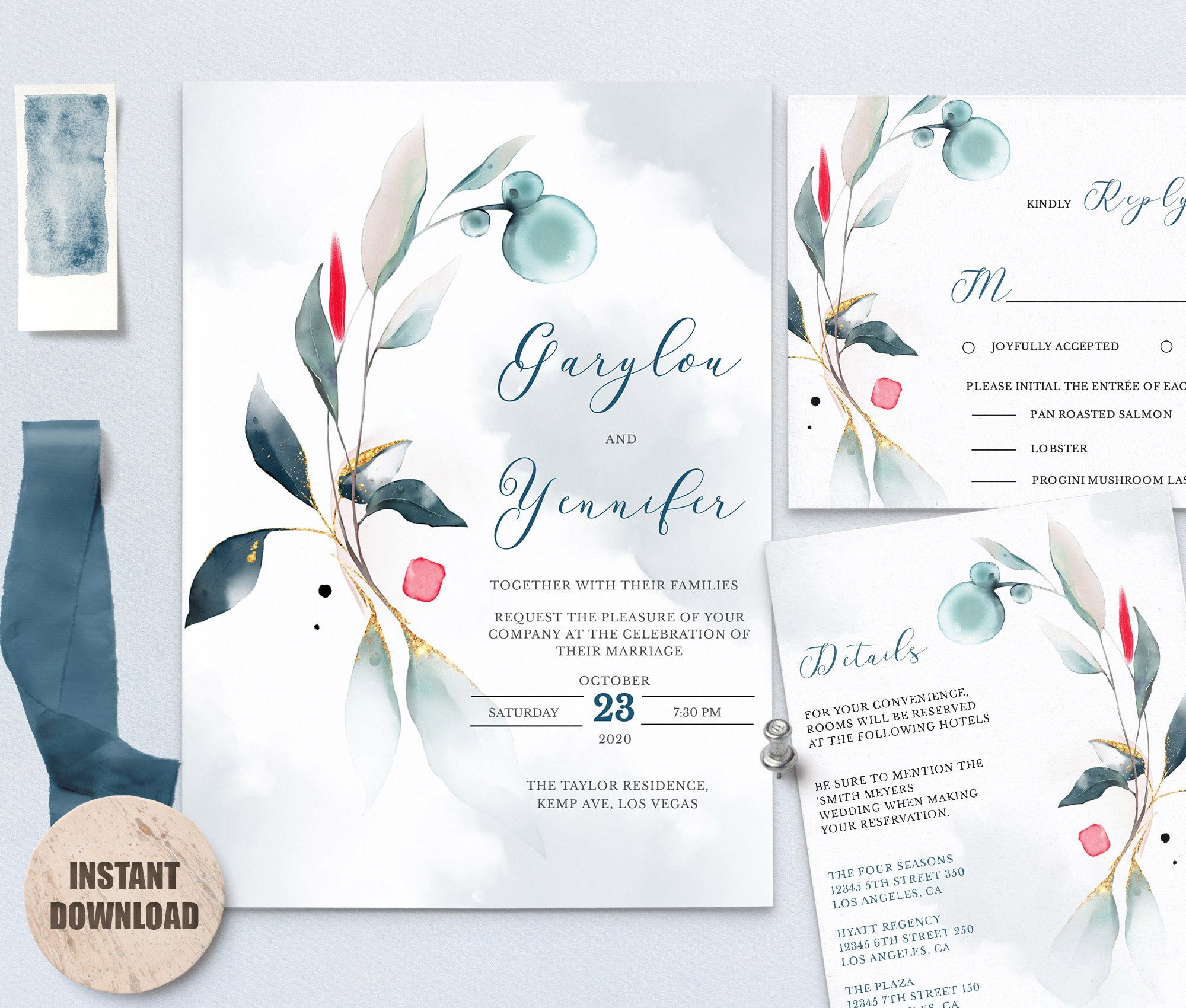 SPMR - Wedding Template Bundles set 3 - Greenlanderdesign