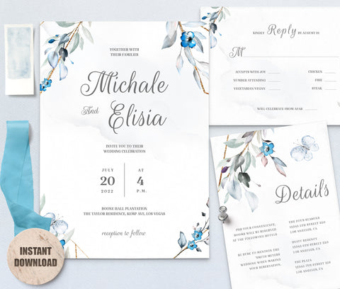 MELLY Wedding Template Bundles